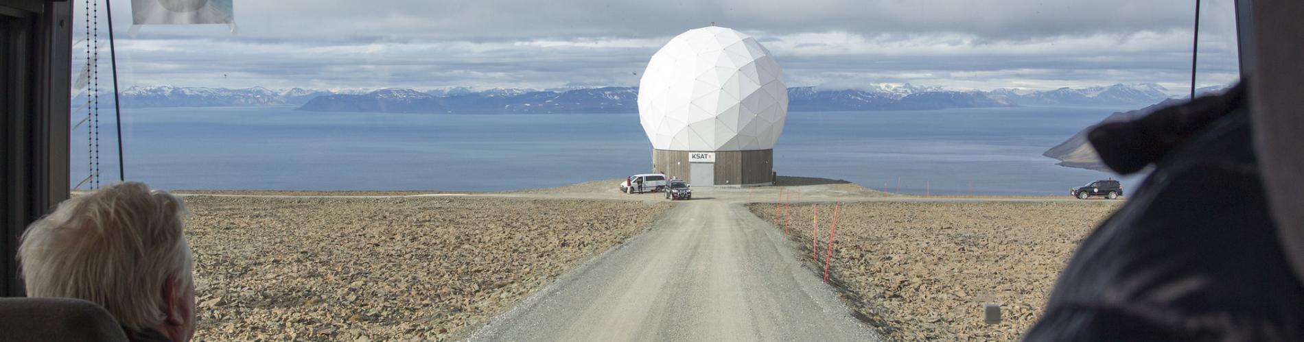 UN Photo/Rick Bajornas - Svalbard Satellite Station (SvalSat)