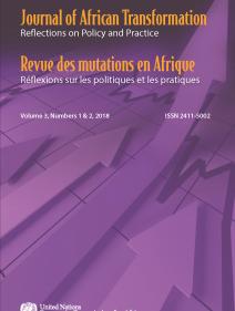 Journal of African transformation = Revue des mutations en Afrique Volume 3, Number 1 & 2, 2018/