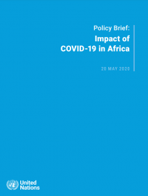 Policy Brief: Impact of COVID-19 in Africa