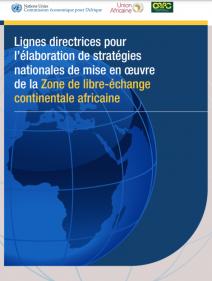 Lignes directrices pour l'élaboration de stratégies nationales de mise en œuvre de la Zone de libre-échange continentale africaine