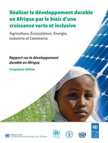 Réaliser le développement durable en Afrique par le biais d'une croissance verte et inclusive: agriculture, écosystèmes, énergie, industrie et commerce