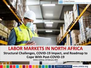 ECA to study COVID-19 Impact on North African Labour Markets and mitigation measures