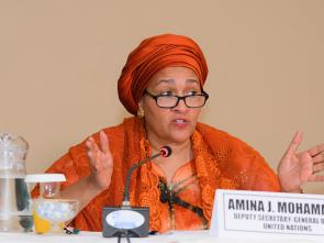Amina Mohammed hails AU-UN partnership for efforts to tackle Africa's challenges