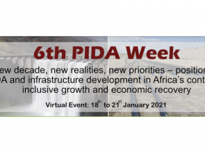 All is set for 6th PIDA Week that will discuss Africa's infrastructure priorities
