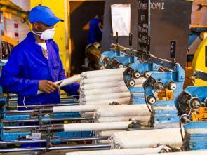 Contribution de la CEA à l'élaboration d'un programme de diversification économique en Afrique centrale en 2020.