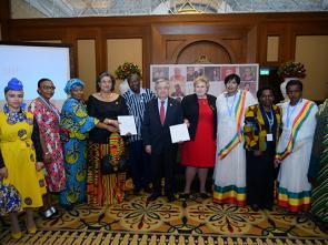 Il faut faire davantage pour assurer la participation égale des femmes aux processus de paix, déclare le chef de l'ONU