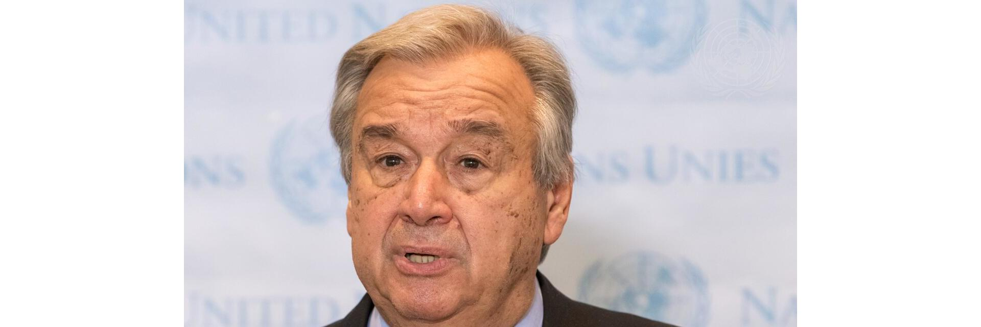 The Secretary-General - Introductory Remarks to Africa Dialogue Series