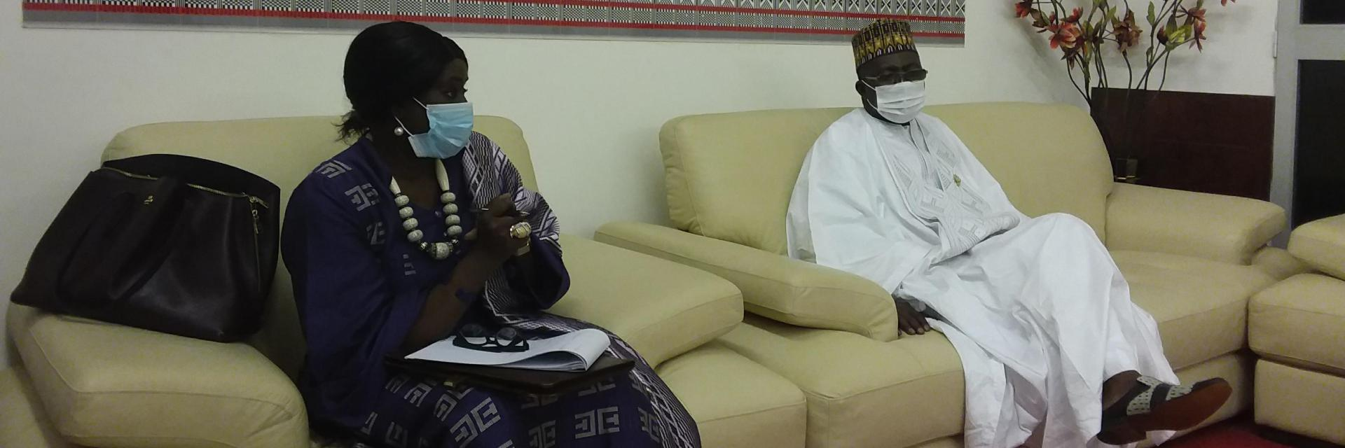 Meeting between the Director of ECA in West Africa and the 3rd Vice-President of the National Assembly of Niger: The promotion of the use of ICTs in the ECOWAS space at the centre of discussions