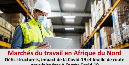La CEA étudie l'impact de la Covid-19 sur les marchés du travail d'Afrique du Nord et les options de mitigation