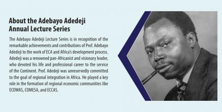 Adedeji remains a major figure in African regional integration