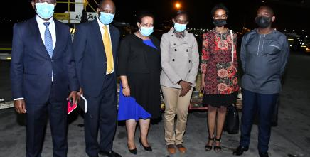 Kenya receives first batch of J&J Vaccines