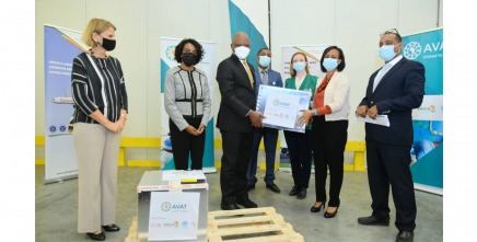 108,000 doses of COVID-19 vaccine delivered to Ethiopia